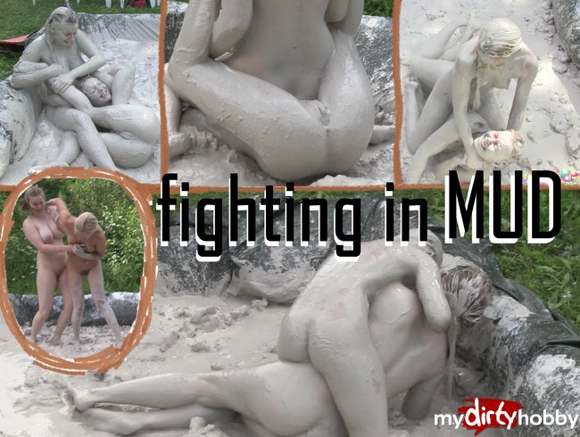 fighting in mud